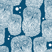 Polar owl pattern.