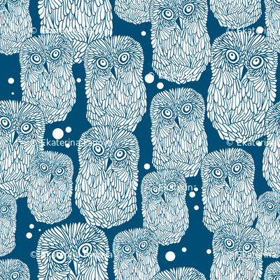 Polar owl pattern