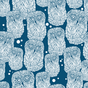 Polar owl pattern