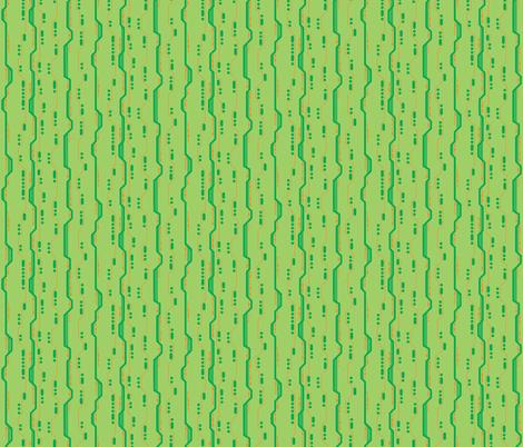 Circuit lime fabric by modernfox on Spoonflower - custom fabric