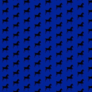 hackney pony (navy & black)