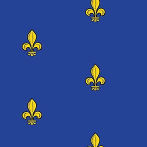 2.5-inch Royal French fleur-de-lis