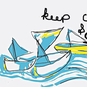 Bahama Boats/Keep Calm