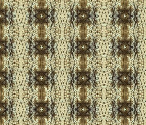 Plumes Pattern 1 (Ecru) fabric by belovedsycamore on Spoonflower - custom fabric