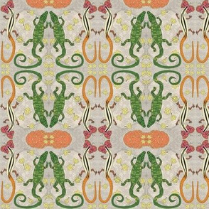 Sassy Skinks of California by Offhand Designs