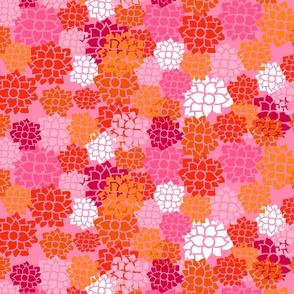 Floral Bouquet Coral