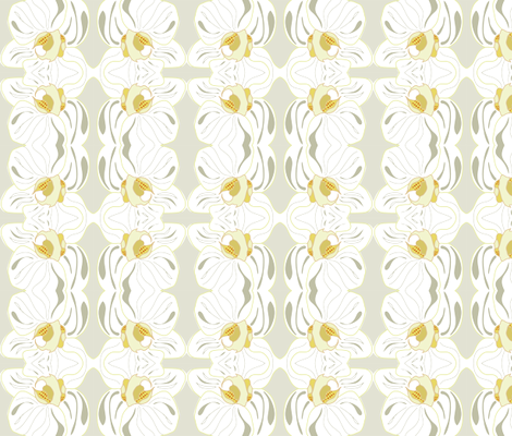 white_orchid fabric by snap-dragon on Spoonflower - custom fabric