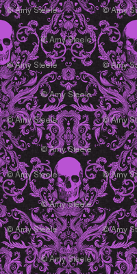 Dread Damask / Livid Purple