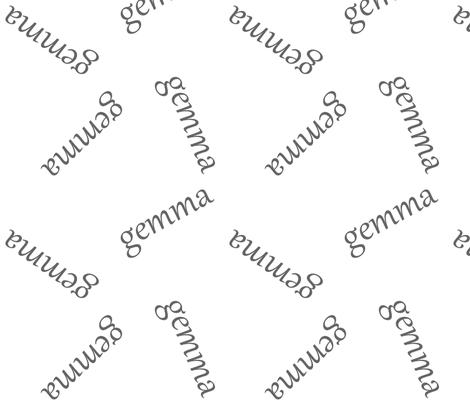 gemma fabric by lmvalentino on Spoonflower - custom fabric