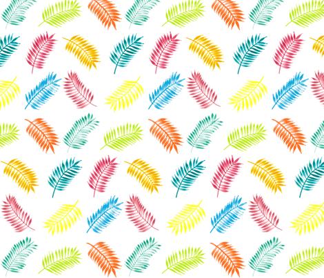 PalmLeaves_Fabric fabric by dianakj on Spoonflower - custom fabric