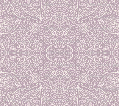 mauve and cream bridal mendhi