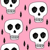 skull // skulls pink scary halloween creepy scary spooky halloween