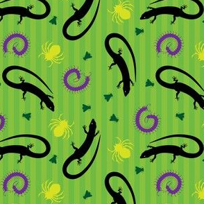 creepy critters and lizards