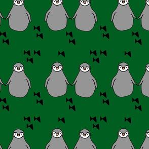 penguins green