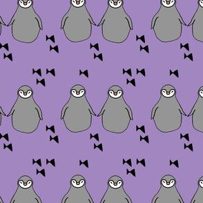 penguin lavender