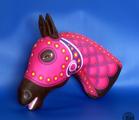 CAROUSEL HORSE Cut n Sew SPRING