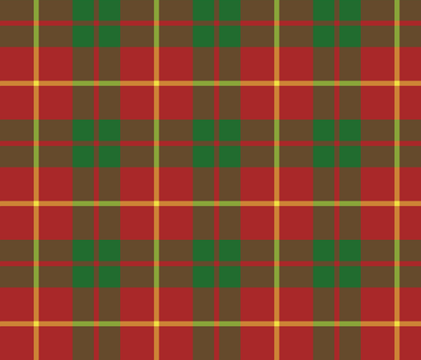 Bryce tartan fabric by weavingmajor on Spoonflower - custom fabric