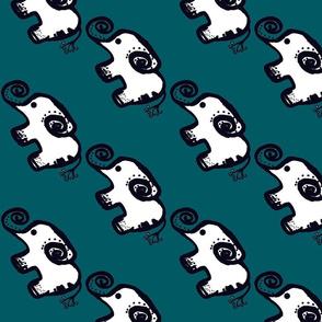 Elephant March-green