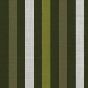 Midi Leaf - Stripe spring