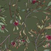 Australian Christmas Fabric