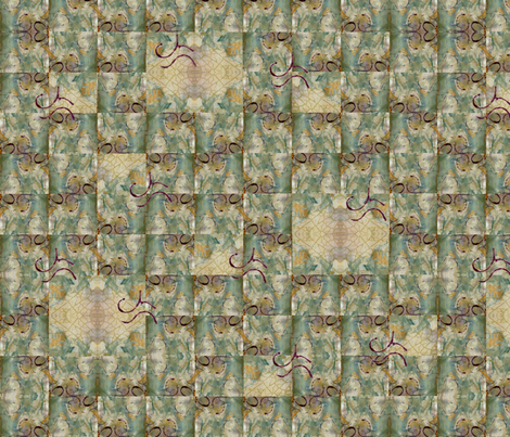 diamond in the_square_c15 fabric by abellearts on Spoonflower - custom fabric