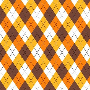 Candy Corn Argyle