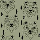 Barney Bear - Artichoke by Andrea Lauren