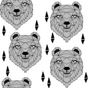 Barney Bear - Grey by Andrea Lauren