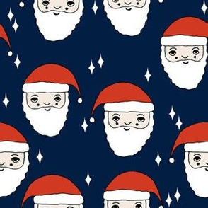 santa // santa claus father christmas christmas fabric cute holiday xmas