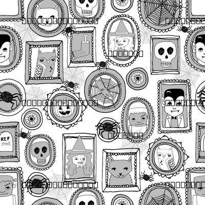 halloween portraits // grey kids baby witches frankenstein