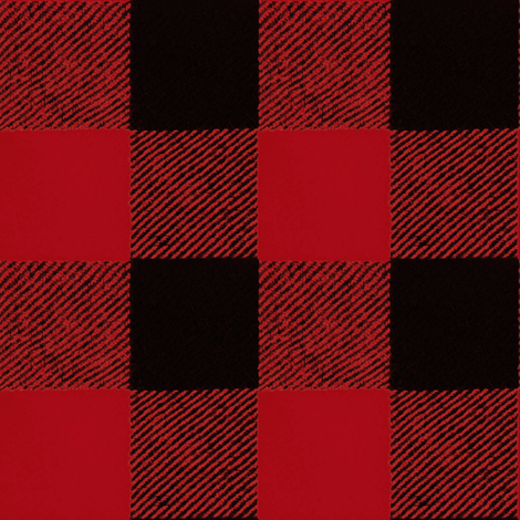 Buffalo Check / Red Flannel fabric by willowlanetextiles on Spoonflower - custom fabric