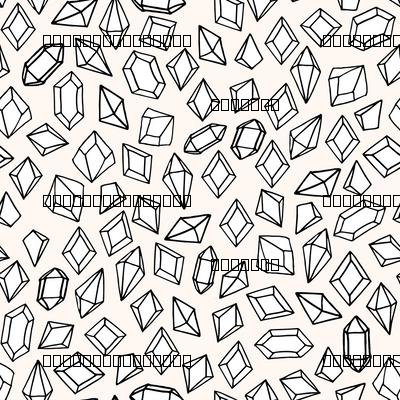 crystals // tiny small print gems crystal fabric andrea lauren design