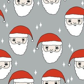 santa // father christmas santa claus kids cute father christmas