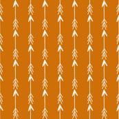 arrows // rust orange stripe nursery baby kids baby boy camping quilt coordinate
