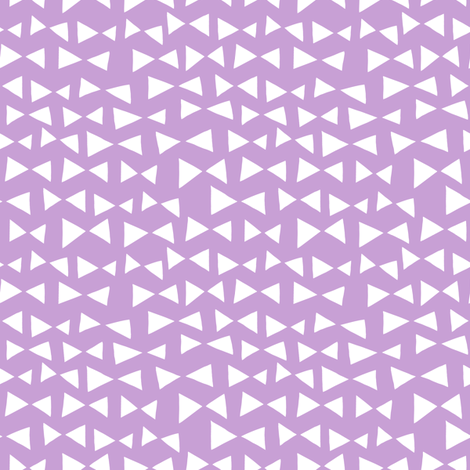 bow tri // pastel purple triangles bow tie tri  fabric by andrea_lauren on Spoonflower - custom fabric
