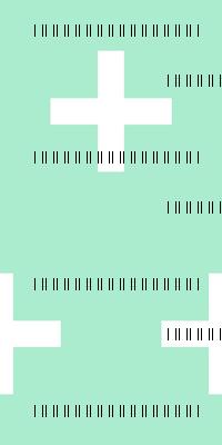 Swiss Cross - Pistachio by Andrea Lauren