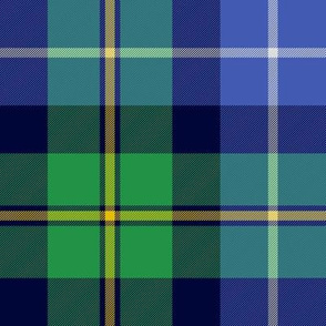 MacNeil tartan - blue and green