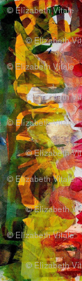 """""""Abstract Painterly/Red & Green"""""""
