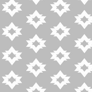 Aztec - Slate Grey by Andrea Lauren