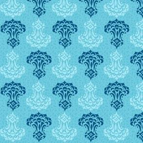 Little Pondicherry Print Aqua