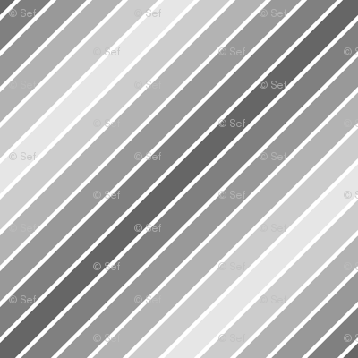 diagonal piped mirrored grey stripe