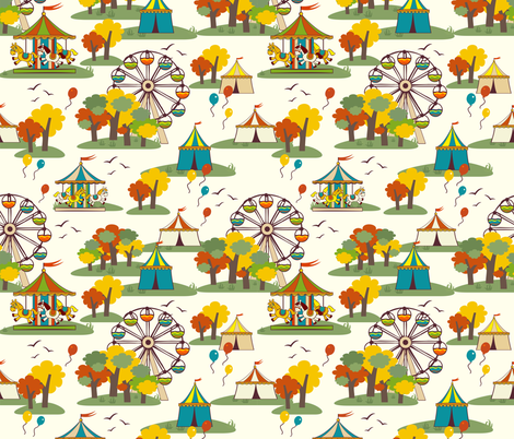 fair! fabric by bairiki on Spoonflower - custom fabric