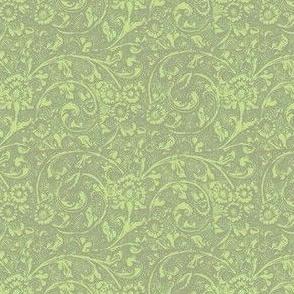 Loeb Green Scrolls