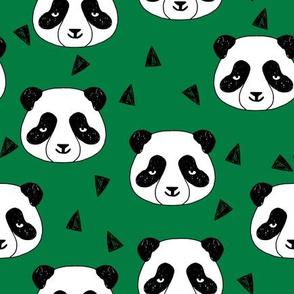 Hello Panda - Kelly Green by Andrea Lauren