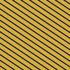 Gold and Navy Diagonal Lines