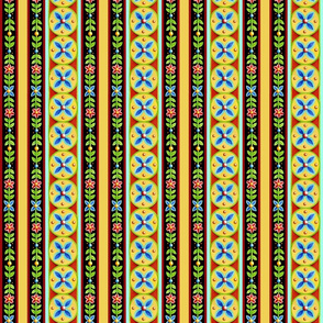 Elizabethan Folkloric Stripe