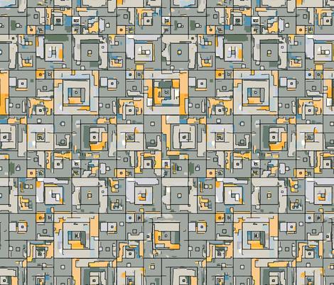 DMZ fabric by ormolu on Spoonflower - custom fabric