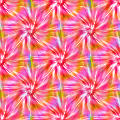 Pink and Red Tie Dye fabric by eclectic_house on Spoonflower - custom fabric
