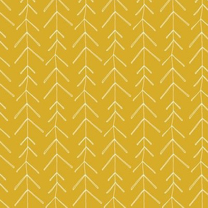 Hollow Pine - Mustard