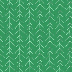 Hollow Pine  - Bottle Green